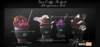 andika [Neo cafe Parfait Dispenser Set]  – NEW