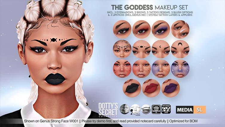 The Goddess Makeup Set – NEW
