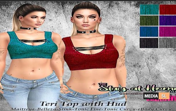 Teri Top with Hud free – Gift