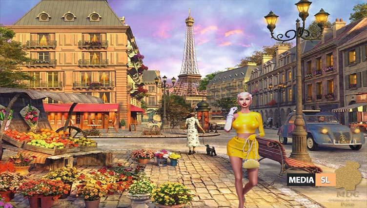 Paris Sexy Girl Pose – NEW