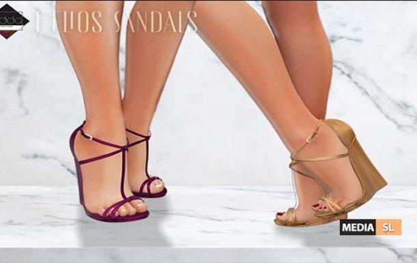 Helios Sandals – NEW