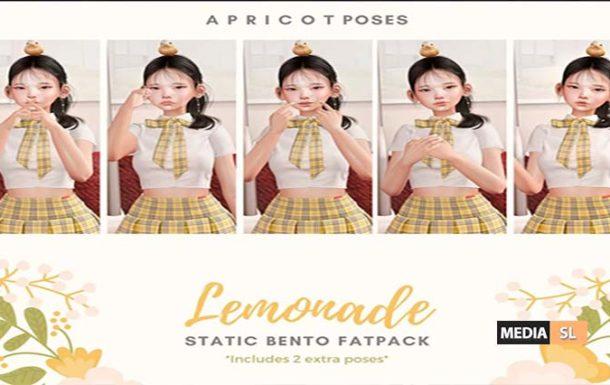 { a p r i c o t } Lemonade  – @ Tlalli  – NEW