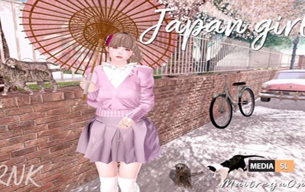 RNK Japan Girl set  – @ Tlalli  – NEW