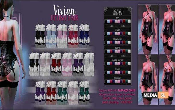 Vivian lingerie – NEW