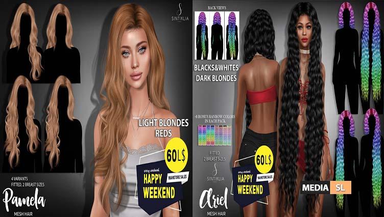 Pamela & Ariel for Happy Weekend sale – SALE