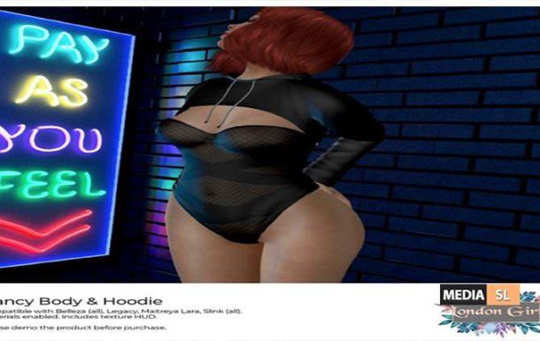 Nancy – Fitted mesh Body & Hoodies – NEW