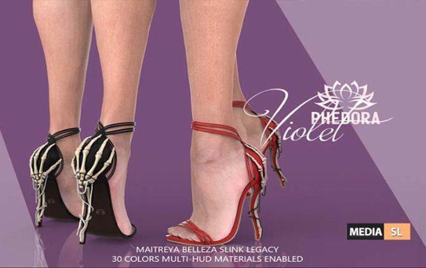Violet Heels ♥ – NEW