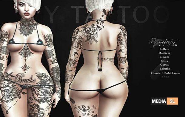 Ivy Tattoo Appliers – NEW