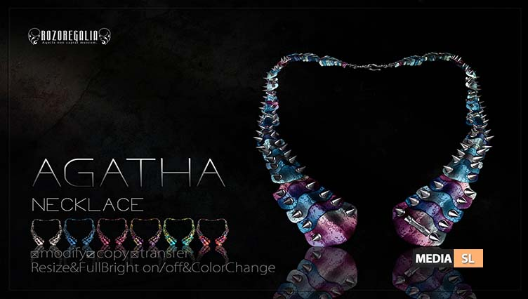 ROZOREGALIA AGATHA NECKLACE – NEW MEN