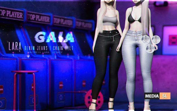 Lara Jeans Chain Belt – NEW