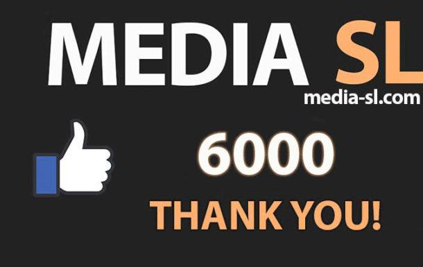 6000 like THANK YOU!