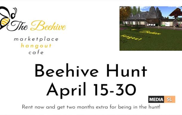 Beehive Hunt / Beehive Grand Opening event – APRIL 2020