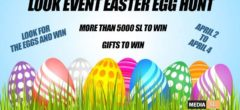LOOK EVENT EASTER EGG HUNT – April 2020