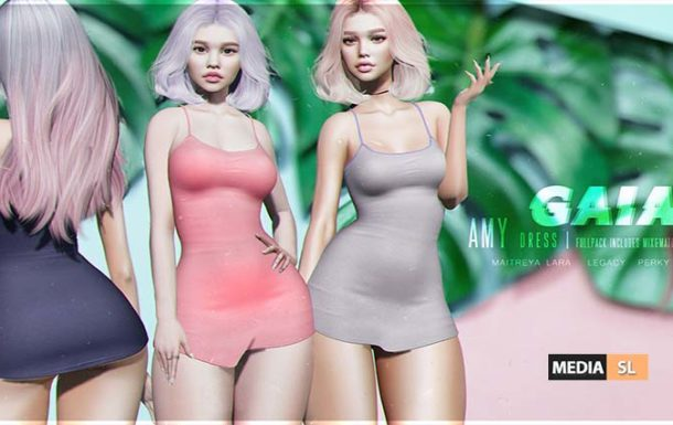 Amy Dress – Uber by Gaia – NEW