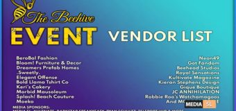 The Beehive Event – JUNE 2020