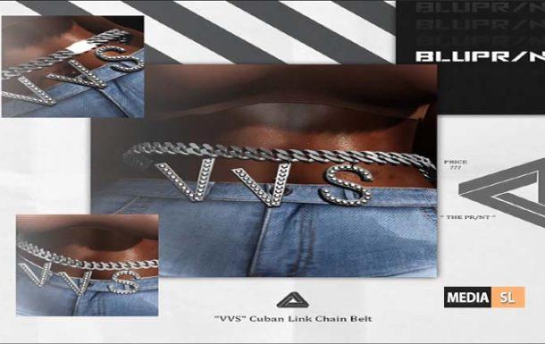 VVS Cuban Link Chain Belt – NEW