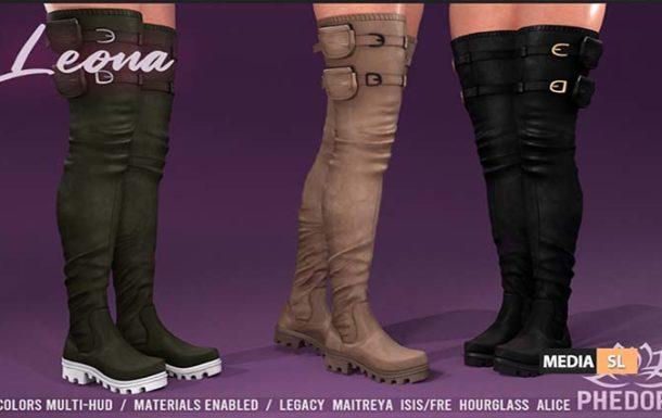 Leona Boots – NEW