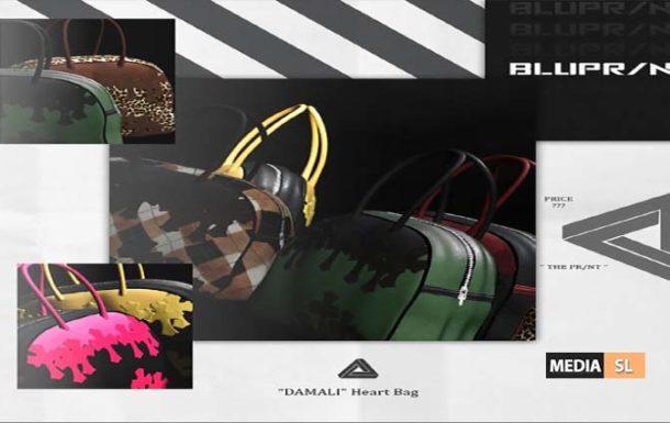 Damali Heart Bag – NEW