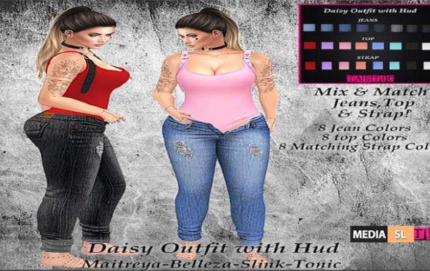 Daisy Outfit with Hud! – NEW