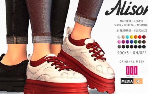 [ADD] Alison Sneakers – NEW