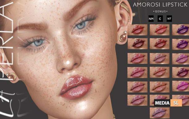 {LP}- Amorosi Lipstick – NEW