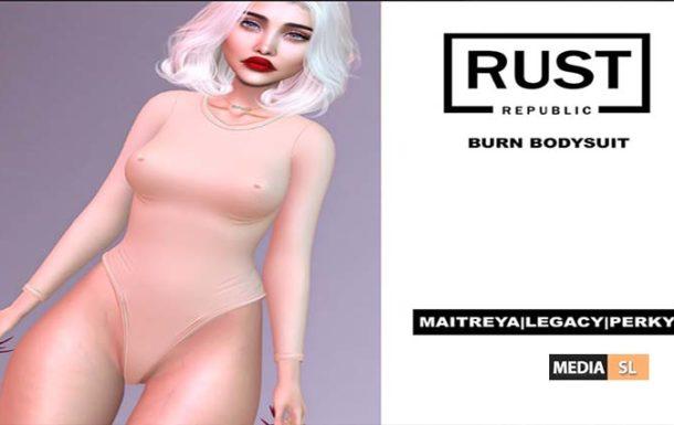 [burn] bodysuit – NEW