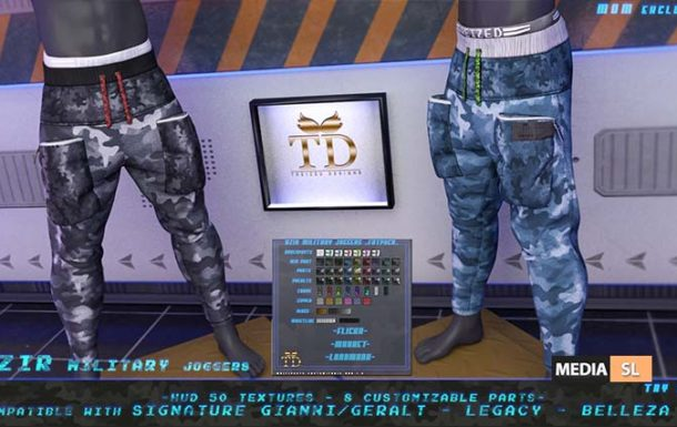 """TD"" Azir Military Joggers FATPACK @MOM – NEW MEN"