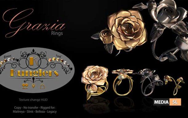 Grazia rings  – NEW