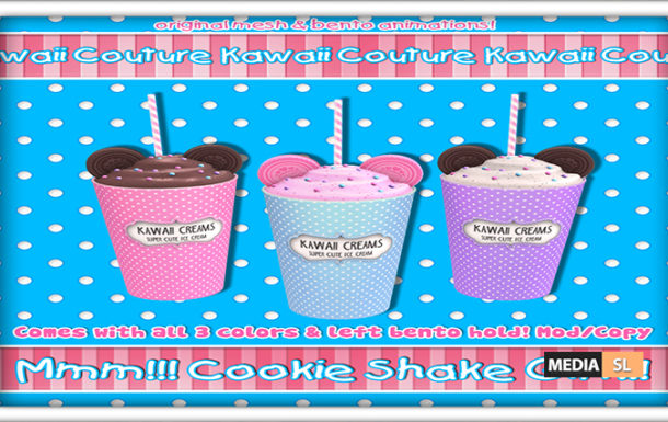 Kawaii Couture – Cookie Shakes Gift Set – Gift