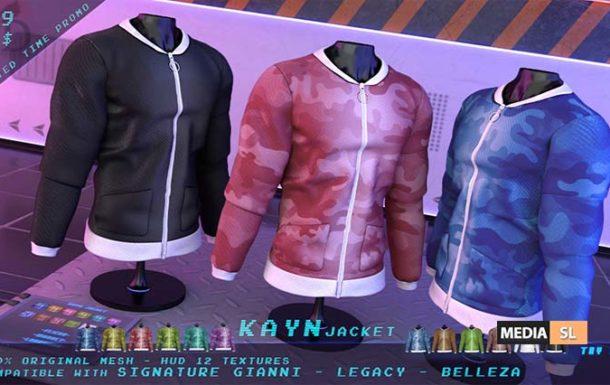 "99L$ ""TD"" Kayn Jacket FATPACK – NEW MEN"