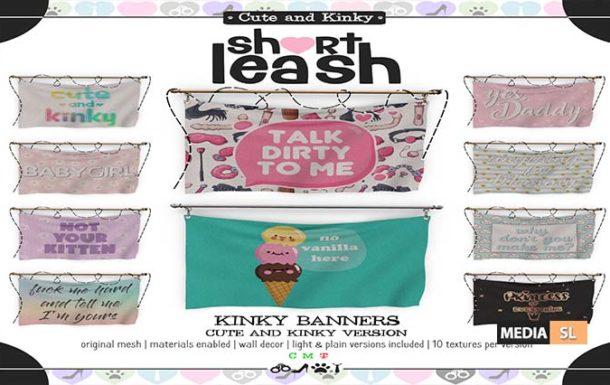 Kinky Banners – Cute & Kinky Version – Gift