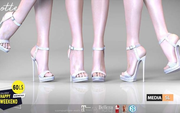 Lotte Heels 60L Happy Weekend Event – SALE