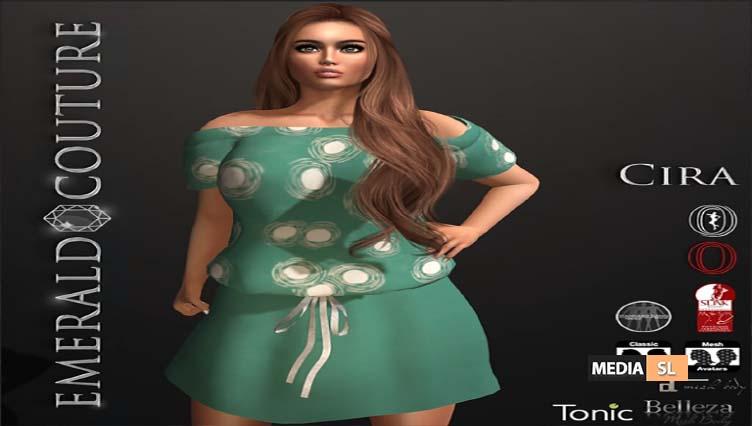 EC Cira Summer Dress Teal – NEW