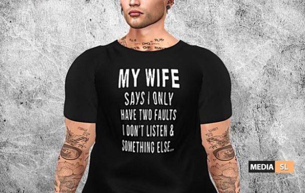 Tastic Don't Listen Shirt! – NEW