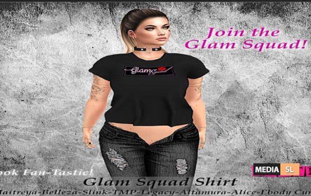 Glam Squad Shirt! – NEW
