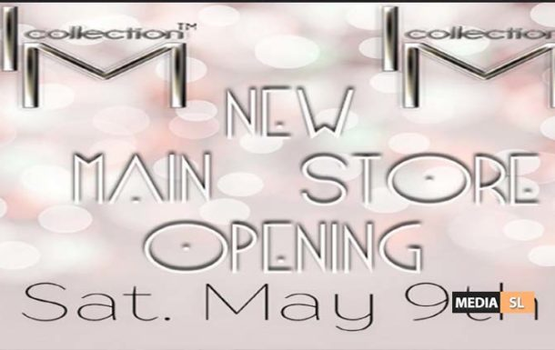 I.M.C. New Store Opening – MAY 9th – Shop