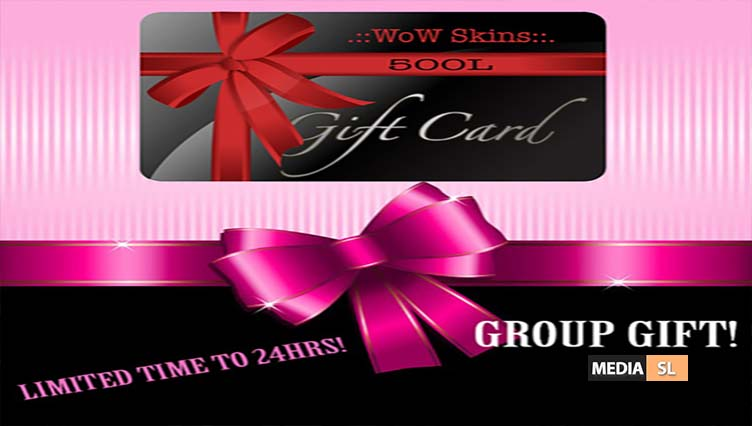 GROUP GIFT FOR 24 HRS – GIFT