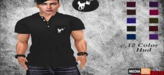 Funny Polo Shirt with Hud! – NEW MEN