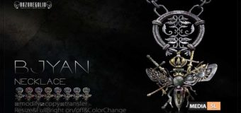 ROZOREGALIA BJYAN NECKLACE – NEW MEN