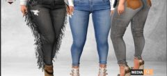 Eve Tasseled Jean – NEW