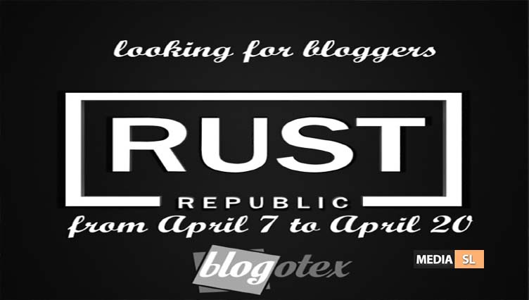 Looking for bloggers from April 7 to April 20 – BLOG