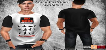 Help Wanted Shirt! – NEW MEN