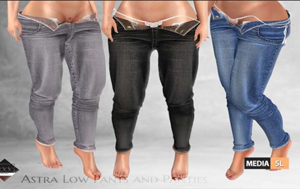 Astra Low Pants and Panties – NEW
