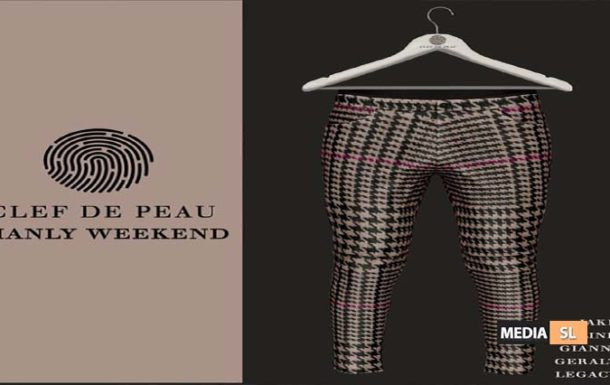 Clef de Peau.Manly Weekend – SALE