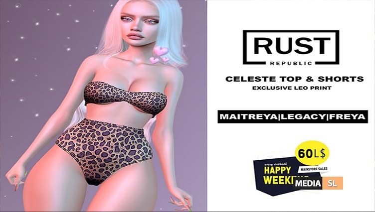 RUST REPUBLIC Happy Weekend April 11-12  – SALE
