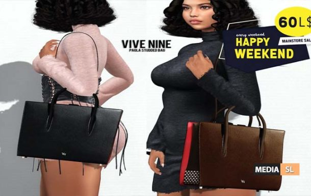 Out now for Happy Weekend @ Vive Nine!   – SALE