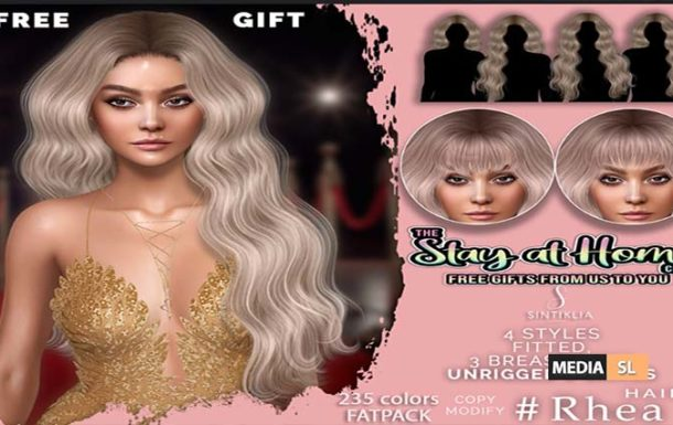 FREE Hair Rhea #The Stay at Home Club – Gift