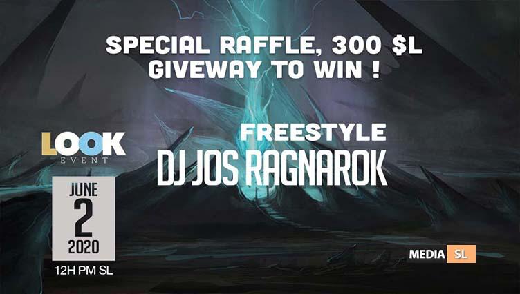 Party with Dj Jos ƦƛƓƝƛƦƠƘ @ Special Raffle, 300 $L GIVEWAY to win ! – Show