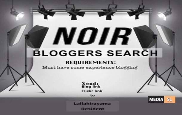 NOIR Blogger Search – JOB