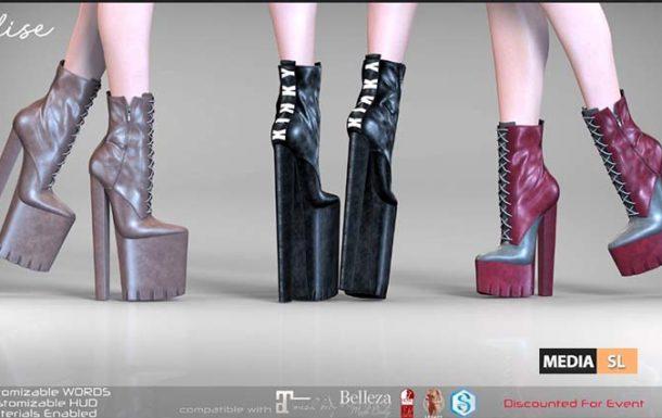 Remezzo – Elise Boots – ROMP – NEW